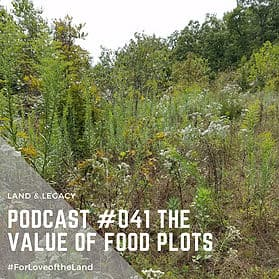 Podcast #41:  The Value of Food Plots