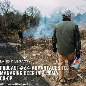 Podcast #64: Advantages of Managing Deer in a QDMA Co-op