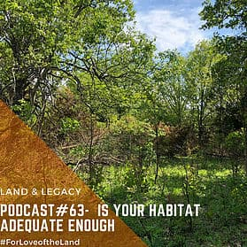 Podcast #63: Is Your Habitat Adequate Enough?