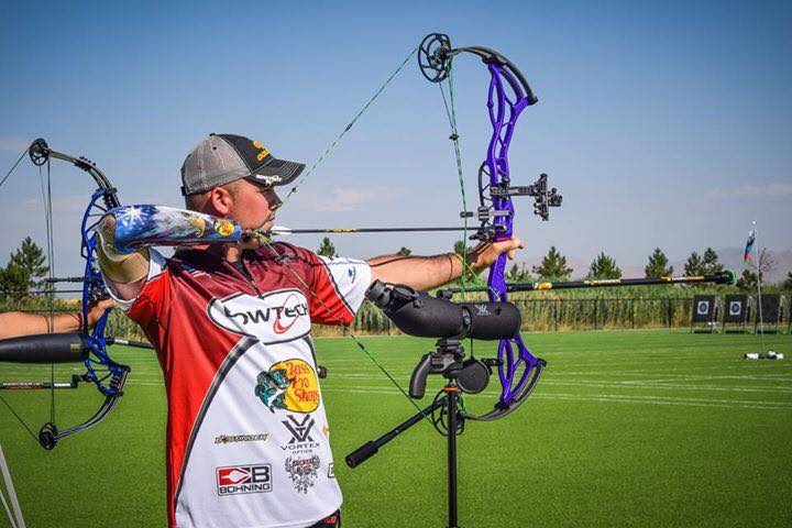Lance Thornton Pro Archery Shooter