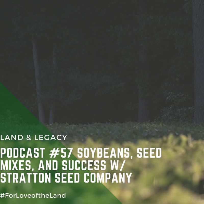Podcast #57: Soybeans, Seed Mixes, and Success with Stratton Seed Company