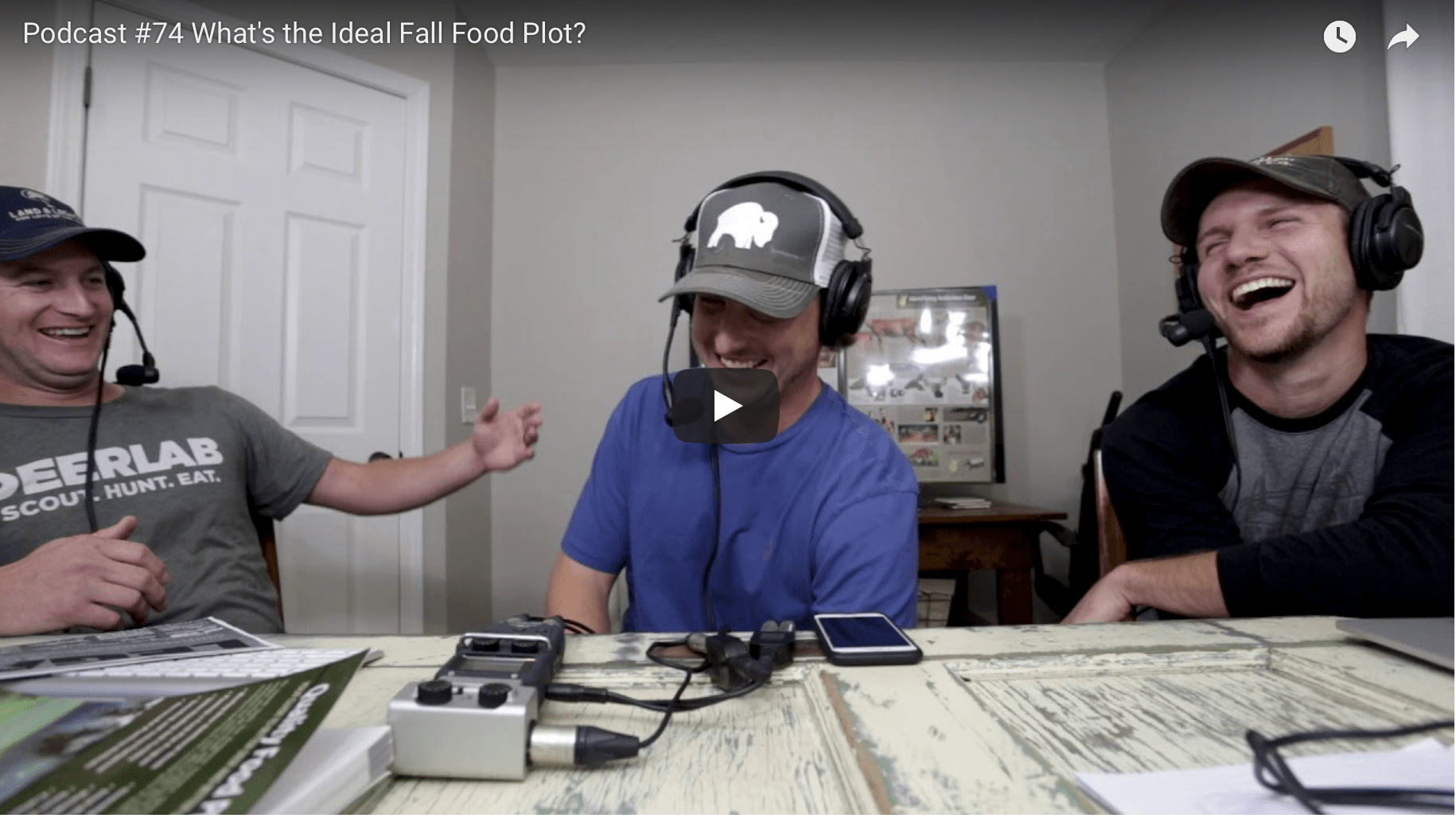 Podcast #74: Fall Food Plot Fanatics