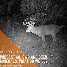 Podcast #68: CWD and Deer Mineral – What do we do?
