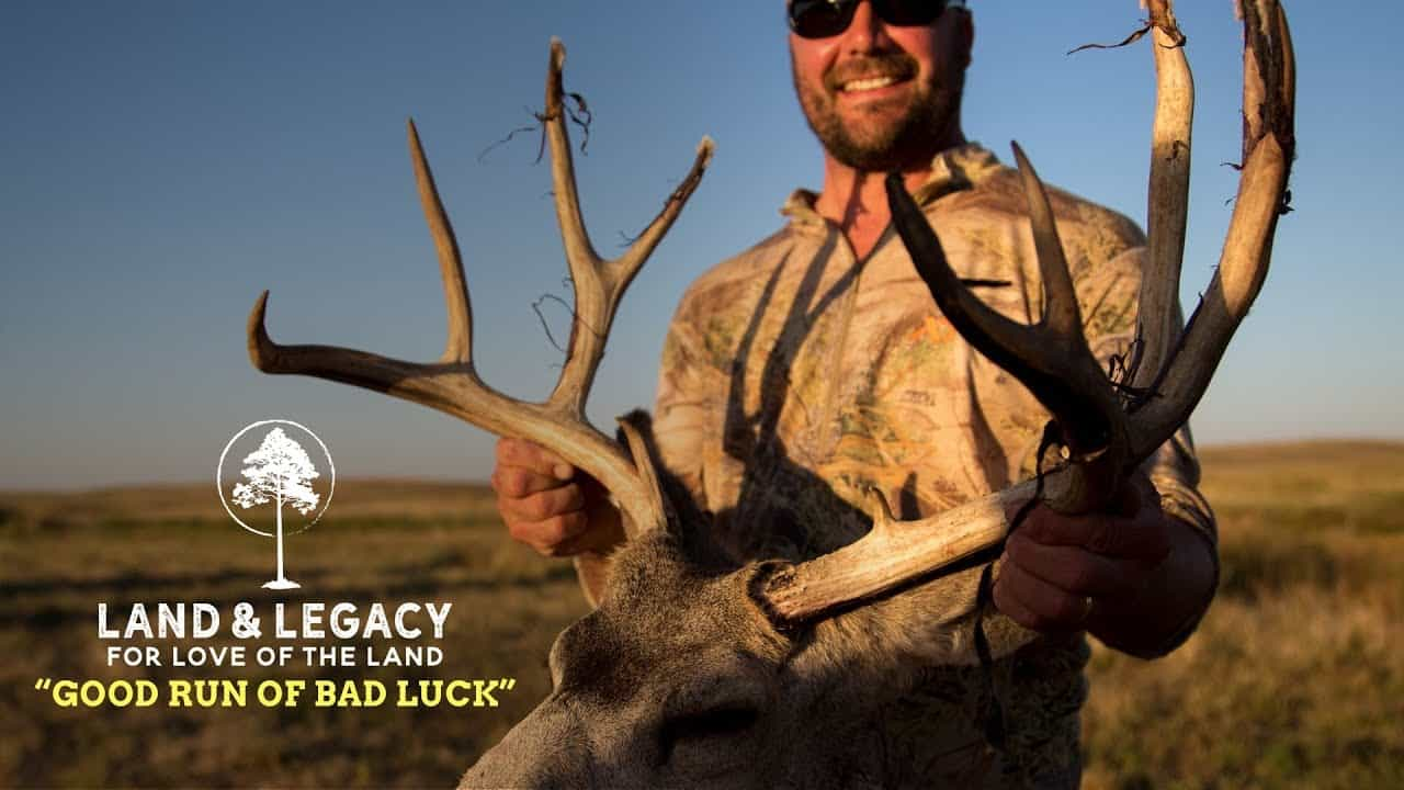 Bowhunting Nebraska Public Land Mule Deer and Whitetails