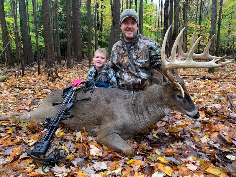 Growing and Harvesting a Michigan Giant Whitetail