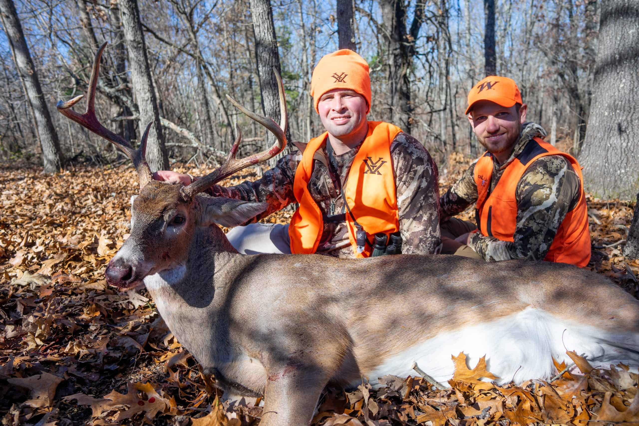 Two Cruising Bucks Hit the Dirt
